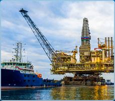 Thang máng cáp cho ngành dầu khí & tàu biển